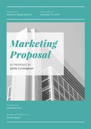 Business Proposal Cover Page Customize 201 Proposal Templates Online Canva