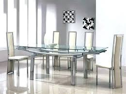 expandable glass dining table round extending glass dining table extending glass dining table and expandable glass