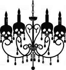 chandelier silhouette stock images royalty free images vectors