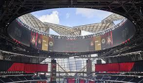 Mercedes Benz Stadium Hok