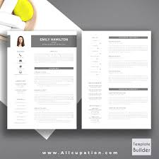 Nice Free Creative Resume Templates For Pages Photos The Best