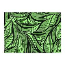 green leaves 539x739area rug by bestgear