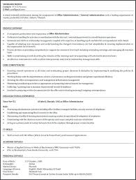 Resume Format For Office Admin Download Office Assistant Resume