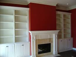 woodwork built in bookcase plans fireplace pdf plans