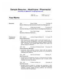 Resume For Hospital Job Luxury Pharmacy Technician Jobiption