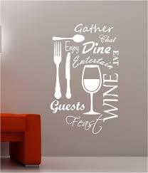 Us 2024 20 Offküche Wort Wolke Vinyl Wandtattoo Esszimmer Lebensmittel Wein Gabel Tasse Messer Blumen Dekor Wandkunst Wand Aufkleber Abziehbild