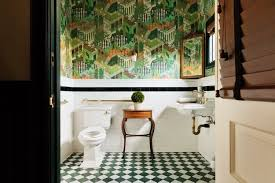 The painting has a yellow background. Bold And Brash New Trends In Wallpaper Architects And Artisansarchitects And Artisans