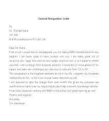 example letter of resignation sample letters of resignation for nurses resignation letter nursing