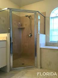 hinged shower door replacement framed glass shower door chrome clear framed hinge shower enclosure with four