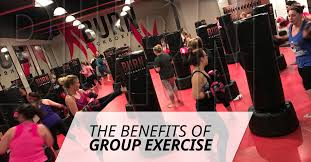 previously we took a look at the physical benefits of kickboxing but today we re going to be looking at the benefits of group exercise in general