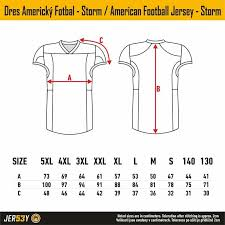 Size Charts Jersey 53 Dressed On The Best