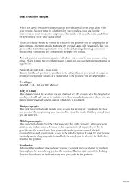How To Send A Resume By Email What Say Format Cover Letter For Free