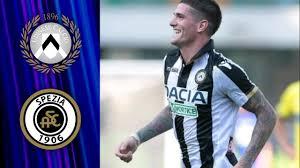 Udinese vs Spezia #Udinese #Spezia Match Highlights - YouTube