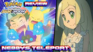 Ash's Teleportation Adventure! | Pokemon Sun and Moon Anime Episode 45  Review - YouTube