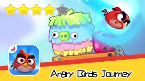 Angry Birds Journey 76 Walkthrough Fling Birds Solve Puzzles Recommend index  four stars - YouTube
