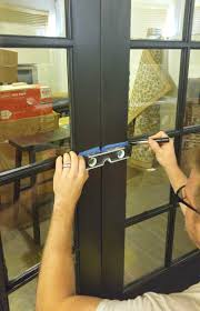 installing french doors with a diy transom