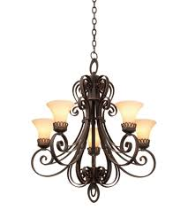 kalco 5198fc 1356 mirabelle 5 light 28 inch french cream chandelier ceiling light photo