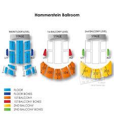 Roh Hammerstein Ballroom Seating Chart The Hammerstein Ballroom Seating Chart 2019