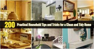 200 <b>Practical Household</b> Tips and Tricks for a Clean and Tidy Home ...