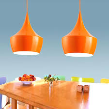 orange pendant light lamp shade nz lights australia