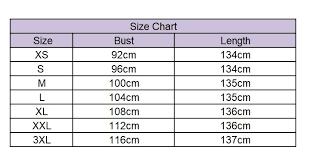Asymmetrical Dress Short Sleeve Size Chart Goodiehood
