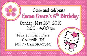 Fine Free Printable Hello Kitty Party Invitations All
