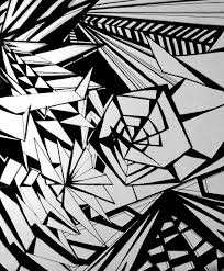abstract drawing geometric abstract drawing by starfruit121 on deviantart