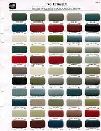 New Nason Automotive Paint Color Chart Volkswagen Beetle