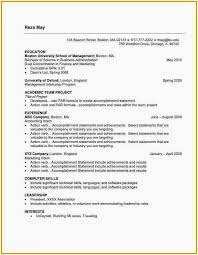 Types Of Resumes Adorable Resume Formet 60 Best Different Types Of Resumes Formats Sample