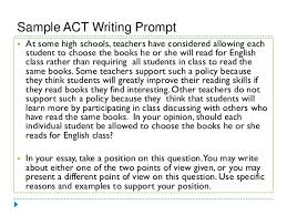 sample act essay prompts co sample act essay prompts
