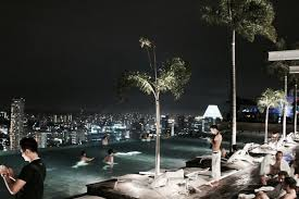 Young OFW Blog Archive Infinity Pool at Marina Bay Sands