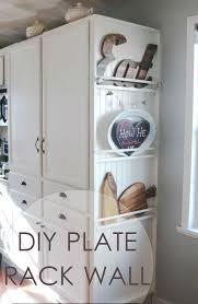 so you want to see how i added a plate rack wall to my pantry cabinet this same concept can be done to create other types of storage as well