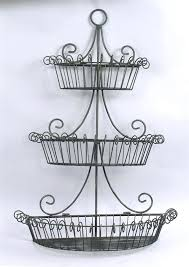 wire wall planter three layers of black metal wire fruits basket mounted on the wall wire wall planter