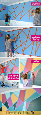 Diy Artwork For Walls Best 25 Diy Wall Painting Ideas On Pinterest Paint Walls