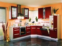 kitchen color ideas red. Countertops \u0026 Backsplash Kitchen Paint Color Ideas Modern Red Cabinet L Shape Minimalist O