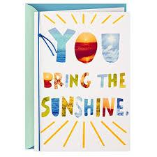 Hallmark Thank You Card, Just Because Card ... - Amazon.com