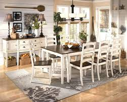 dining table rug size for kitchen under round area