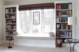 window seat bookshelves american hwy
