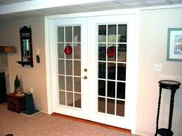 interior french doors installing cost of sliding glass door replacement home depot fashionable double f