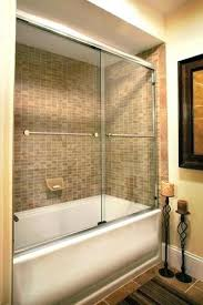 sliding shower doors for bathtubs bear glass sliding glass doors for bathtubs bear glass inc bathtub
