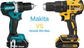 Dewalt Battery Comparison Chart Makita Vs Dewalt Who Wins This Battle Of The Cordless