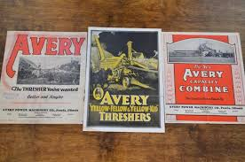 Group of Avery Literature