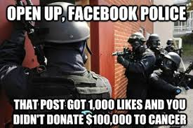 Facebook Police memes | quickmeme via Relatably.com