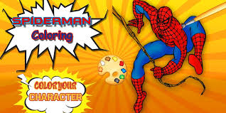 Best spiderman or spider man coloring pages. Spider Man Coloring Pages Spider Games For Android Apk Download