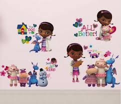 home décor doc mcstuffins wall stickers