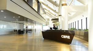 Company Office Design Magnificent FirstEver Well™ Certified Office At CBRE Group Cityscapes