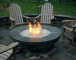 fire pit replacement bowl glass beautiful pits outdoor wind guard round beautif
