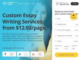 Custom essay order EssayScam