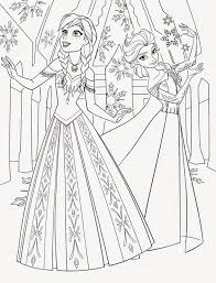Disney Princess Frozen Elsa And Anna