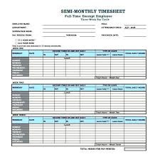 Payroll Time Sheets Free Monthly Templates Free Sample Example Format Printable Time